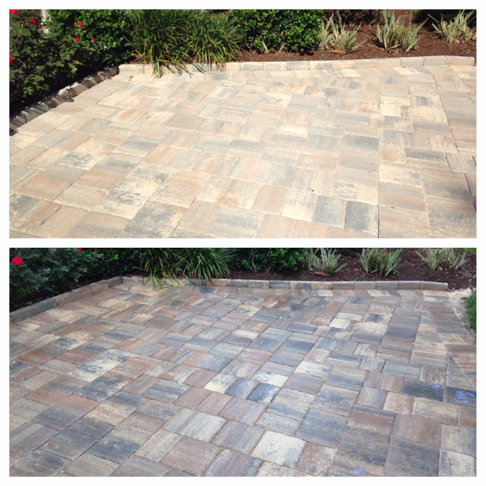Jacksonville Brick Paver Cleaning and Sealing in